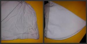 Wymiana uszkodzonej kieszeni w spodniach